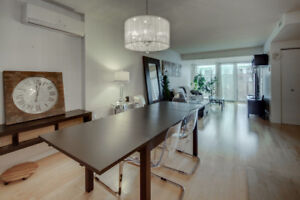 2 Bedroom penthouse condo in Lachine