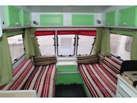 Fleetwood Garland 128 1991 2 Berth Caravan £1400
