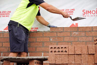 Bricklayers Wanted - Benefits!