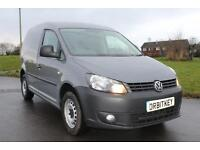 Volkswagen Caddy 1.6TDi ( 102PS ) BlueMotion Tech Grey Diesel Van £6895 + VAT