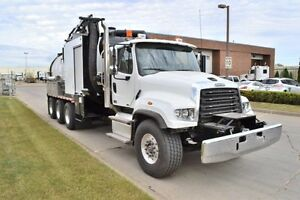 NEW 2015 Freightliner 114/SD West Vac Hydro Vac