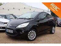 2012 62 FORD KA 1.2 ZETEC 3D 69 BHP - USED CAR DEALER OF THE YEAR