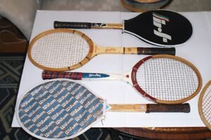 VINTAGE WOOD TENNIS RACKETS FOR WOMEN