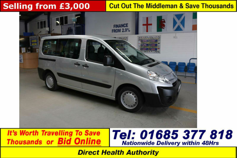 2009 CITROEN DISPATCH 1.6HDI 90PS 5 SEAT DISABLED