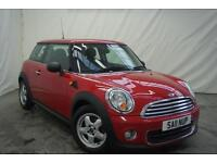 2011 MINI Hatch ONE Petrol red Manual