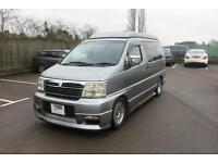 NISSAN Elgrand - 4 Berth Pop - Top Campervan For Sale