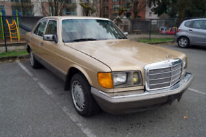 Classic Turbo-Diesel: 1984 Mercedes-Benz 300SD - low miles $3300