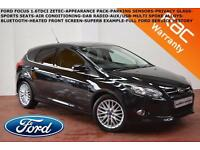 2012 Ford Focus 1.6TDCi (115ps) Zetec-APPEARANCE PACK-P.SENSORS-B.TOOTH-F.F.S.H.