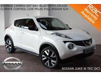 2014 Nissan Juke 1.5dCi (110ps) N-Tec-ST NAV-BLUETOOTH-FULL NISSAN SERVICE HIST.