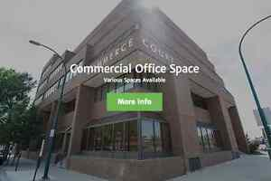Prime Downtown Office Spaces Available - Commerce Court