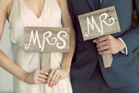 September Weekend Special 50% Off: 8th/9-22nd/23 Weddings & More