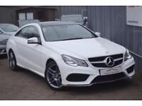 2014 Mercedes-Benz E Class E250 Coupe 2.1CDi 204 SS AMG Sport 7GT+ Diesel white