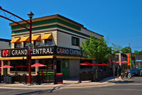 Grand Central Bar & Grill is looking for servers