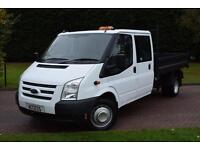 Ford Transit D/Cab Tipper t350 2.2 tdci 6 speed