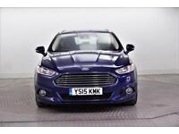 2015 Ford Mondeo TITANIUM TDCI Diesel blue Manual