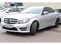 2012 Mercedes-Benz C Class 2.1 C220 CDI BlueEFFICIENCY AMG Sport Plus