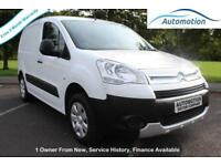 Citroen Berlingo 1.6HDi ( 90 ) L1 625 XTR+ Panel Van 2009