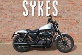 2020 Harley-Davidson XL883N Sportster Iron in Barracuda Silver