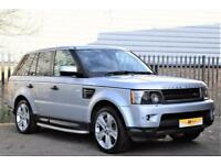 2009 Land Rover Range Rover Sport 5.0 V8 Supercharged HSE 5dr Petrol silver Auto