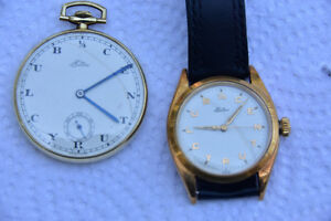 Eatons 1/4 Century Club Wristwatch and Pocket Watch