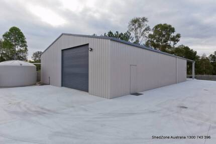 New Garage or Storage shed with FREE INSULATION Moores Pocket Ipswich City Preview