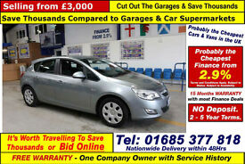 2012 - 12 - VAUXHALL ASTRA EXCLUSIV ECOFLEX 1.3CDTI 5 DOOR HATCHBACK GUIDE PRICE