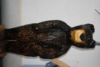 Wooden Carved Bear