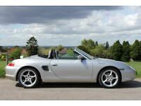 Porsche Boxster 2.7 228bhp Full Black Leather One Owner 49k SOLD