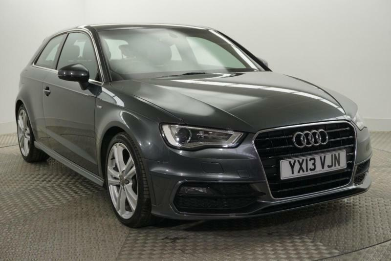 2013 audi a3 tdi s line diesel grey manual in bury. Black Bedroom Furniture Sets. Home Design Ideas