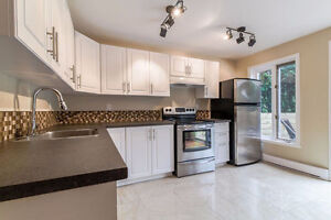 Magnificent and fully renovated  5 1/2 view home West Island