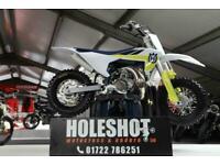 HUSQVARNA TC 50 MINI 2022 BRAND NEW MOTOCROSS BIKE UK BIKE
