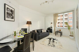 1 bed flat long let in portered block with the private garden £395 pw St John's Wood NW8