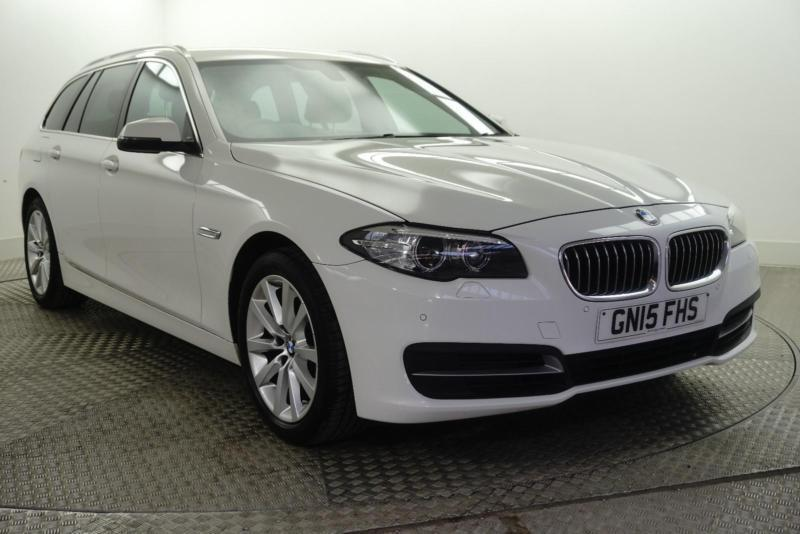 2015 Bmw 5 Series 520d Se Touring Diesel White Automatic In Bury