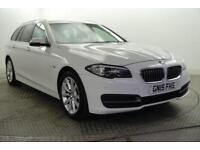 2015 BMW 5 Series 520D SE TOURING Diesel white Automatic