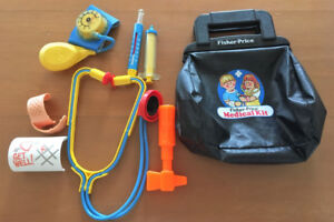 Vintage Fisher Price Medical Kit