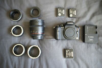 OBO: Panasonic GH2 w/ kit 14-42mm & Rokinon 85mm T1.5