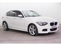 2012 BMW 1 Series 120D M SPORT Diesel white Manual