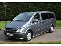 2013/63 Mercedes-Benz Vito 113 2.1CDi Blue F LWB 8 SEAT TRAVELINER
