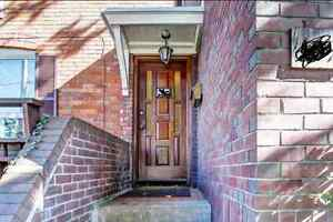 Large Roncesvalles 1 Bedroom Bright Basement with Backyard