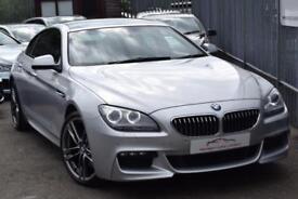 2013 BMW 6 Series 640 Gran Coupe 3.0d 313 DPF SS EU5 M Sport Auto8 Diesel silver