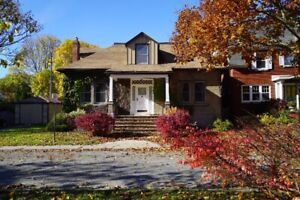 Executive 6 Bdrm Home Steps Away From Queen's Campus