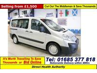2009 - 59 - PEUGEOT EXPERT TEPEE COMFORT 1.6HDI 5 SEAT DISABLED ACCESS MINIBUS