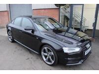 Audi A4 TDI S LINE BLACK EDITION. VAT QUALIFYING