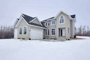 5 Acres only 25 min to Edmonton - Custom Built Two Story