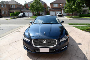 JAGUAR XJ Supercharged 2011 Fully Loaded Beige interior