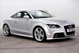 2011 Audi TT TDI QUATTRO S LINE Diesel silver Manual