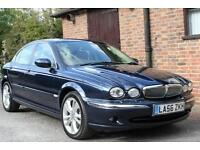 2007 JAGUAR X TYPE 2.2 D SE 6 SPEED MANUAL. FULL SERVICE HISTORY BIG SPEC CAR