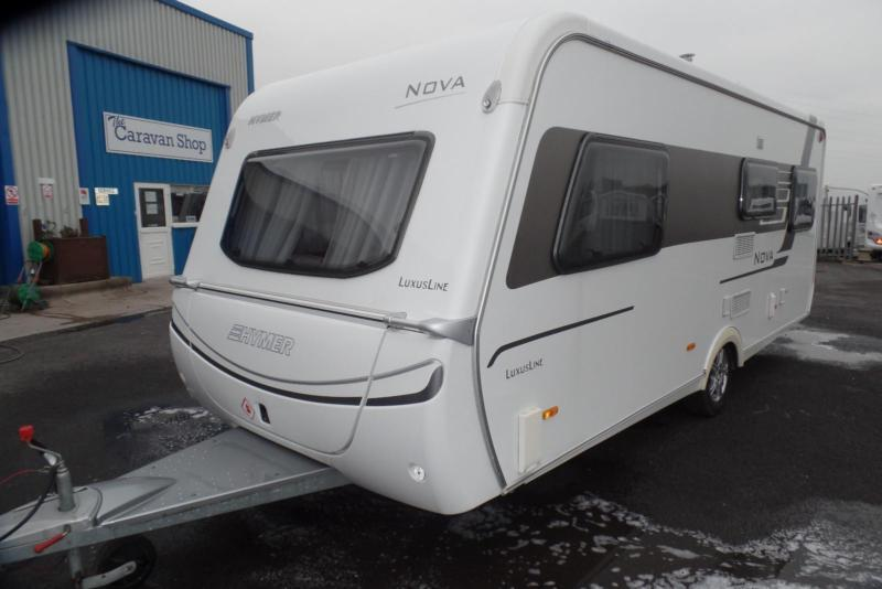 0def531bb71260 2013 Hymer Nova Luxusline 541. 4 BERTH SINGLE AXLE TWIN BEDS.