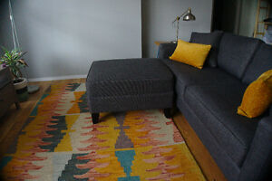 Urban Barn Couch and Ottoman