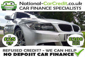 BMW 320 320d M SPORT Good / Bad Credit Car Finance (silver) 2008
